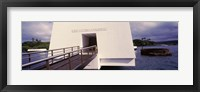 Framed USS Arizona Memorial, Pearl Harbor, Honolulu, Hawaii
