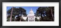 Framed California State Capitol Building, Sacramento, California