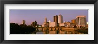 Framed Scioto River Columbus OH