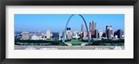 Framed USA, Missouri, St. Louis, Gateway Arch