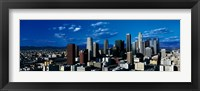 Framed Skyline from TransAmerica Center Los Angeles CA USA