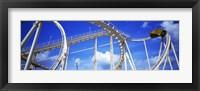 Framed Batman The Escape Rollercoaster, Astroworld, Houston, Texas, USA