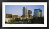 Framed Skyscrapers in a city, Sacramento, California, USA