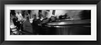 Framed Blurred Motion, People, Grand Central Station, NYC, New York City, New York State, USA,