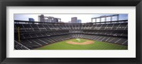 Framed Coors Field Denver CO