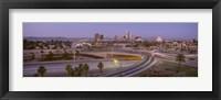 Framed Skyline Phoenix AZ USA