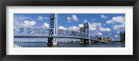 Framed Main Street Bridge, Jacksonville, Florida, USA