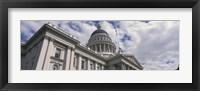 Framed USA, California, Sacramento, Low angle view of State Capitol Building