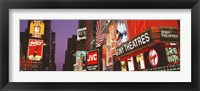 Framed Billboards On Buildings, Times Square, NYC, New York City, New York State, USA