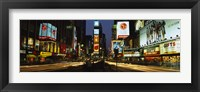 Framed Shopping malls in a city, Times Square, Manhattan, New York City, New York State, USA