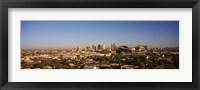 Framed Buildings in a city, Phoenix, Arizona, USA