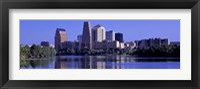 Framed Austin TX USA