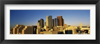 Framed Los Angeles Skyline