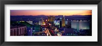 Framed Strip, Las Vegas, Nevada, USA