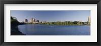 Framed Buildings in a city, Austin, Texas, USA