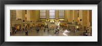 Framed Group of people in a subway station, Grand Central Station, Manhattan, New York City, New York State, USA
