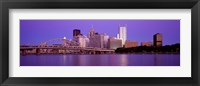 Framed Allegheny River Pittsburgh PA