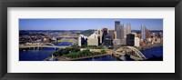 Framed Pittsburgh Skyline