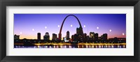 Framed Skyline St Louis Missouri USA