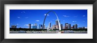 Framed Skyline, St Louis, MO, USA