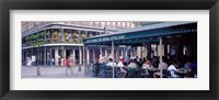 Framed Cafe du Monde French Quarter New Orleans LA