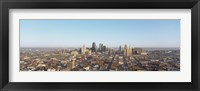 Framed Aerial view of a cityscape, Kansas City, Missouri, USA