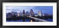 Framed Night, Austin, Texas, USA