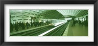 Framed Metro Station Washington DC USA