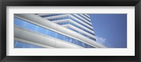 Framed Low angle view of an office building, Dallas, Texas, USA