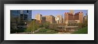 Framed Downtown Omaha NE