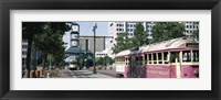 Framed Main Street Trolley Memphis TN