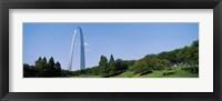 Framed Gateway Arch, St Louis MO