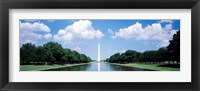 Framed Washington Monument Washington DC