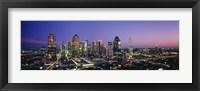 Framed Night, Dallas, Texas, USA
