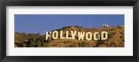 Framed Hollywood Sign Los Angeles CA