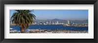 Framed San Diego from a Distance