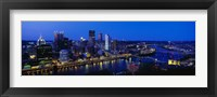 Framed Pittsburgh from Mount Washington