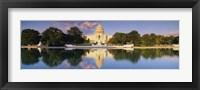 Framed US Capitol Reflecting, Washington DC