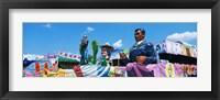 Framed Mardi Gras Floats