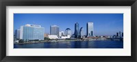 Framed Buildings at the waterfront, St. John's River, Jacksonville, Florida, USA