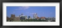 Framed Buildings in St Louis, Missouri
