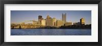 Framed Buildings and Bridge in Pittsburgh, Pennsylvania