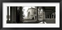 Framed Pavilion in Balboa Park, San Diego, California