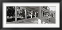 Framed Balboa Park, San Diego, California