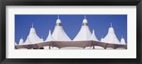 Framed Roof of a terminal building at an airport, Denver International Airport, Denver, Colorado, USA
