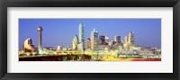 Framed Dallas Texas USA