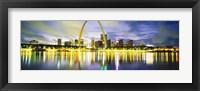 Framed Evening, St Louis, Missouri, USA