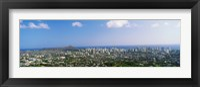 Framed Honolulu, Hawaii