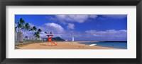 Framed Ala Moana Beach Honolulu HI