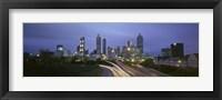 Framed Atlanta traffic, Georgia
